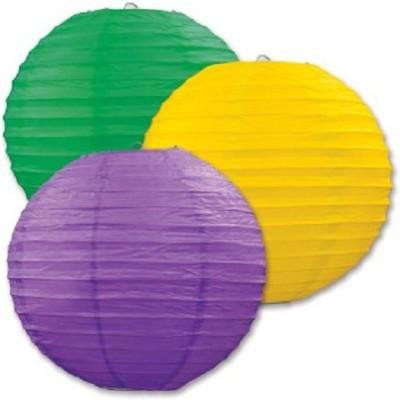 sukot Green, Yellow, Purple Diwali Christmas Festival Celebration Decoration paper lantern - 03