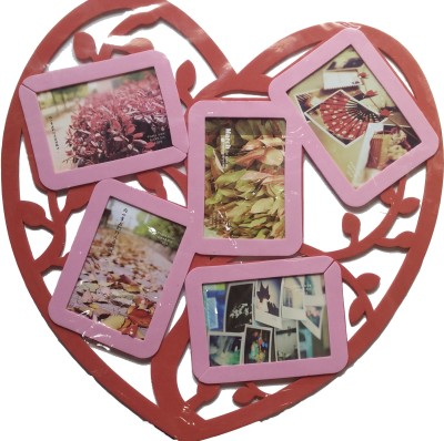 Creators Red & Pink Wall frame sticker - 1