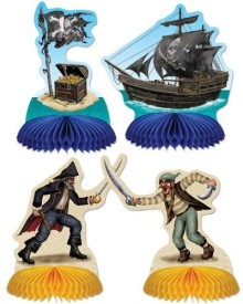 Beistle Multicolor Pirate Playmates - 5 g