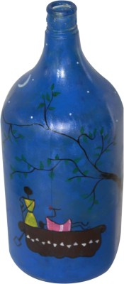 The Ethnic Story TESGLABOTTBLULAMP Decorative Bottle(Pack of 1)