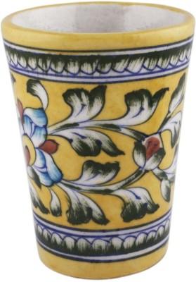 Pandora,S Art Blue Pottery Glass Decorative Bottle