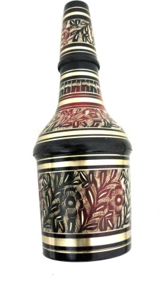 E-Handicrafts wine Decorative Bottle(Pack of 1)