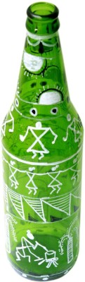 The Ethnic Story TESWRPDGBFVGREEEE Decorative Bottle(Pack of 1)