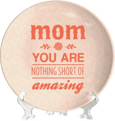 Giftsmate Amazing Mom Ceramic Decorative Platter