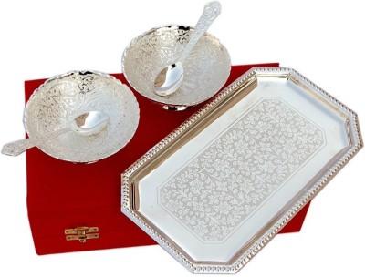 Inspiration World Bowl Set / 5 Brass Decorative Platter