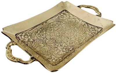 Inspiration World Brass Platters Brass Decorative Platter