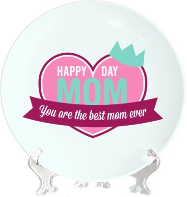 Giftsmate Happy Mom Day Ceramic Decorative Platter