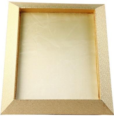 paras kraft Wooden Decorative Platter(Gold)