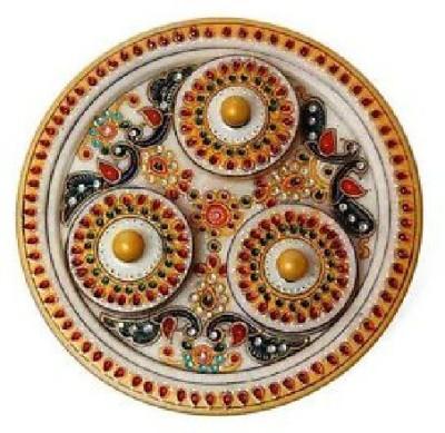 Advent Crafts Stoneware Decorative Platter