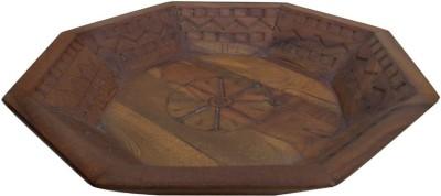 Indune Lifestyle Octagonal Tray Wooden Decorative Platter
