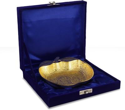 Yahya Brass Decorative Platter(Gold)