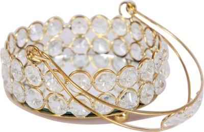 Angels Choice round crystal basket Crystal Decorative Platter