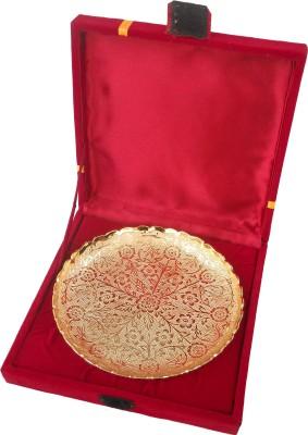 Metallic Kreationz Handicrafts Brass Decorative Platter