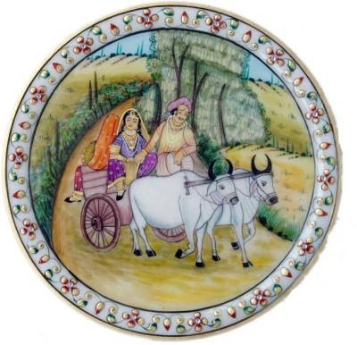 shivaarts Stoneware Decorative Platter