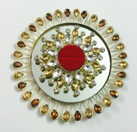 Loops n knots Gold Wedding Ring Platter - 150 g