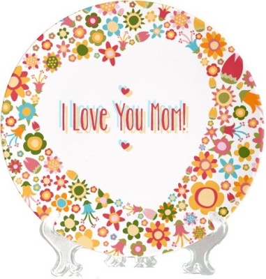 Giftsmate I Love Mum Ceramic Decorative Platter