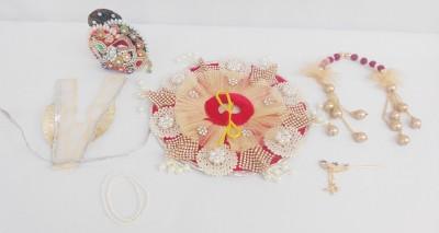 Mahashringar Laddu Gopal size(1) Dress(Silk)