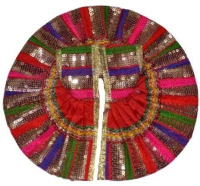 KK Creations Laddu Gopal Dress(Terracotta)