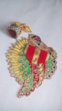 Kanha Dresses ladoo gopal Dress (Silk)