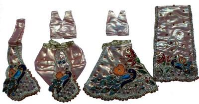 Creative Vision Radha Krishna Dress(Silk)