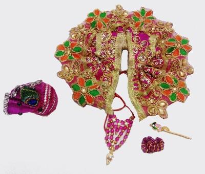 Mahashringar Laddu Gopal size(0&1) Dress