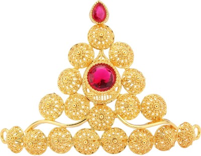Urvashi Enterprises Mukut(Crown) Deity Ornament(Ganesh)