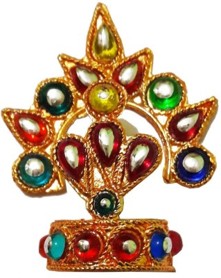 CraftEra Mukut(Crown) Deity Ornament(Krishna)
