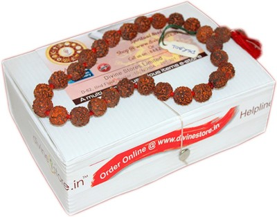 Divine Store Rudraksha Japa Mala Deity Ornament
