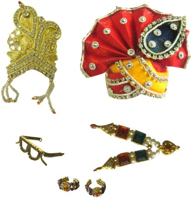 SRKV Mukut, Pagdi, Necklace, Sunglass, bracelet Deity Ornament