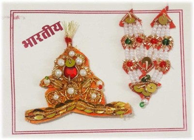 CraftEra Necklace, Mukut(Crown) Deity Ornament(Krishna)