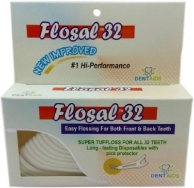Stim Flosal Easy Flossing For Both Front And Back Teeth - Plain