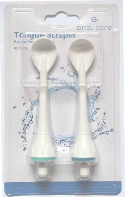 Oral Care Tongue Scraper Tip (Pack Of 2) - No Flavour