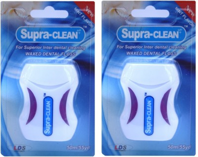 LDS Supra Clean Waxed Dental Floss - Mint