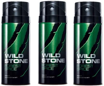 Wild Stone Forest Spice Body Spray  -  For Men