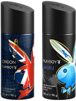 Playboy Malibu London Body Spray - For Men