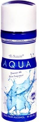 Al-Nuaim Aqua Body Spray  -  For Men, Women