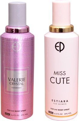 ESTIARA 1 VALERIE CRYSTAL::1 MISS CUTE Deodorant Spray  -  For Men