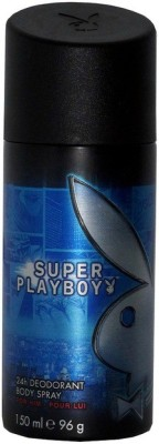 Playboy Super Man Twister Mea Deodorant Spray - For Men