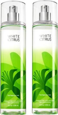 Bath & Body Works White Citrus Combo Set Body Mist  -  For Boys, Men, Girls, Women