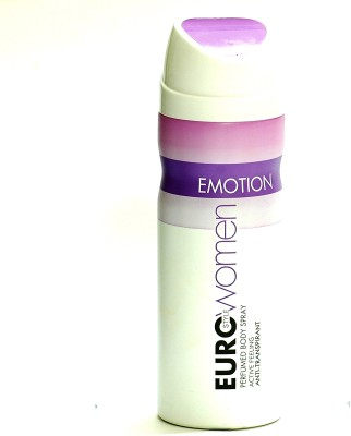 Euro Style Emotion Deodorant Spray  -  For Women