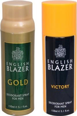 English Blazer 1 GOLD::1 VICTORY Deodorant Spray  -  For Men