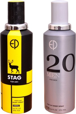 ESTIARA 1 STAG::1 20 MEN Deodorant Spray  -  For Men