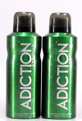 Adiction Rio Pack of 2 Deodorant Spray - For Boys, Men(300 ml)