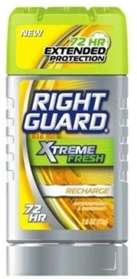 Right Guard Xtreme Fresh Recharge Deodorant Stick  -  For Men