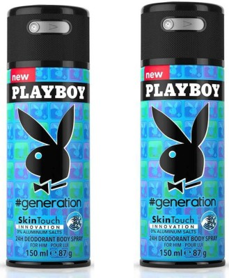 Playboy Generation Body Spray - For Men(150 ml)