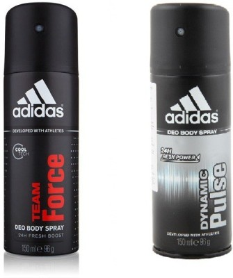 Adidas team force, pulse Deodorant Spray - For Boys, Men, Women, Girls