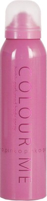 Colour Me Highly Perfumed - Pink Deodorant Spray  -  For Women