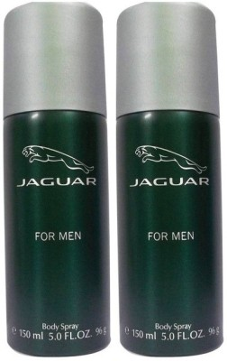 Jaguar Pack of 2 For Men Deo Deodorant Spray - For Men(300 ml)