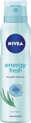 Nivea Energy Fresh Deodorant Spray  -  For Women