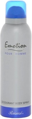 Rasasi Emotion Deodorant Spray  -  For Men, Women
